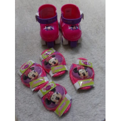 Set de patines y protecciones Minnie