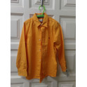 Camisa naranja talla 6-7 años. Segunda mano