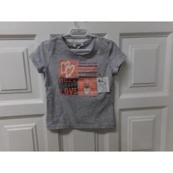 Camiseta 3 pompones 3 años
