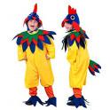 Disfraz gallo amarillo 5-6 años