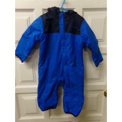 Buzo azul forrado talla 6-12 meses. Segunda mano