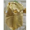 Disfraz extraterrestre dorado 4-6 años