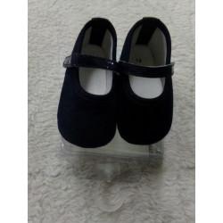 Zapato azul mariono N 17. A estrenar