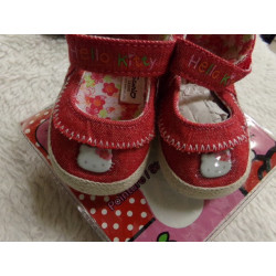 Zapatito Hello Kitty. N 17. A estrenar