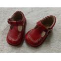 Zapato rojo de piel a estrenar talla 20