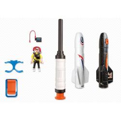 Playmobil Aire Libre - Cohetes de energía