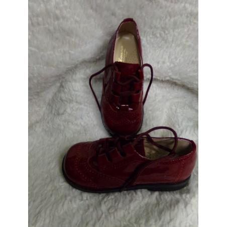 Zapato Pili Carrera granate T26