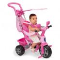 Triciclo Baby Plus rosa con toldo. Feber. Segunda mano