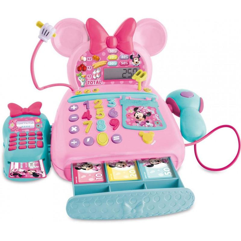 aja registradora electrónica Minnie Mouse sin uso