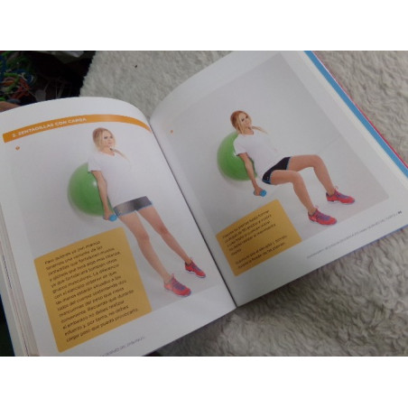 En forma durante y despues del embarazo. Segunda mano