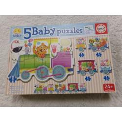Puzzle 5 Baby. Segunda mano