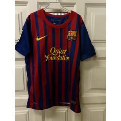 Camiseta Barça talla 8-10 años. Segunda mano