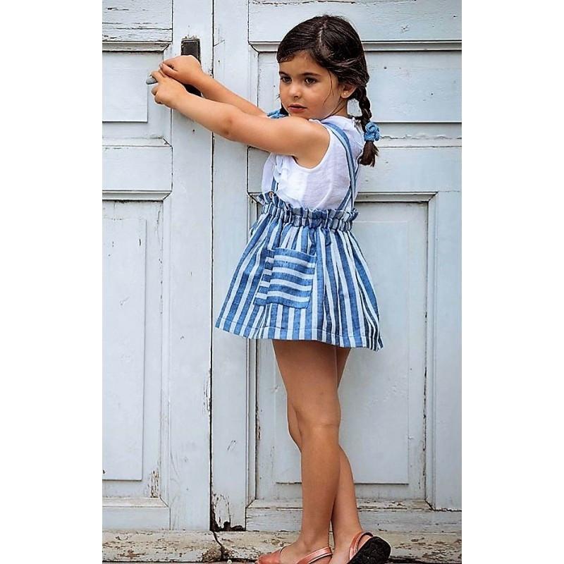 Falda tul y pompon talla 4 años. Segunda mano