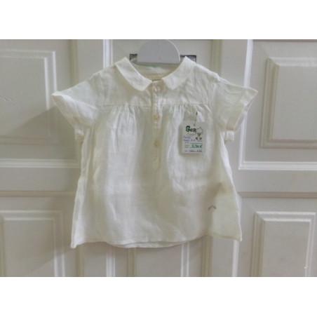 Camisa Nanos 12 meses lino