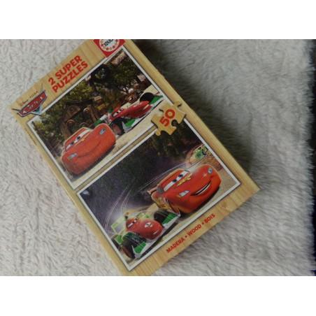 2 Puzzles de Cars de 50 piezas. Segunda mano