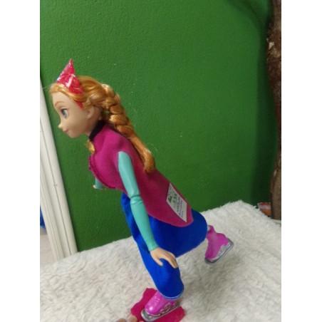 Frozen - Muñeca patinadora, Anna SEGUNDA MANO