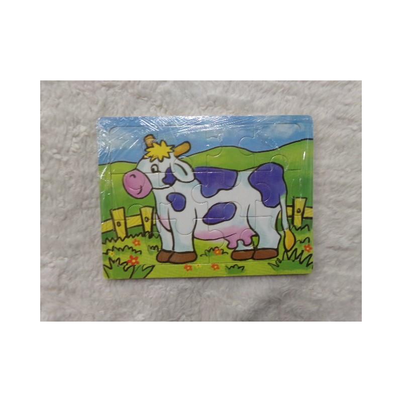 Puzzle vaca. Segunda mano