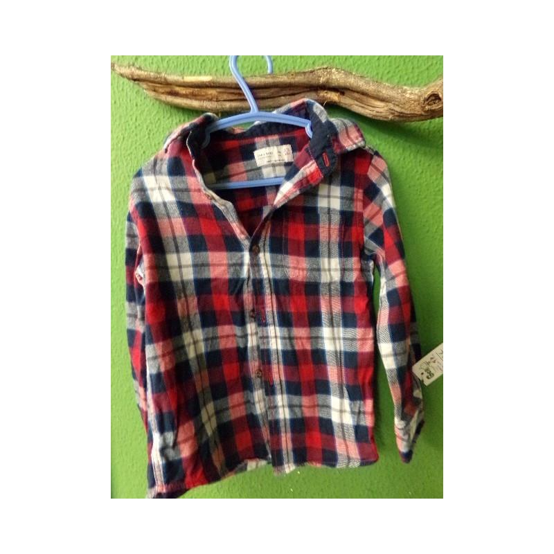 Camisa de zara niño 3-4 años