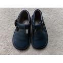 Zapato azul N 25. Segunda mano