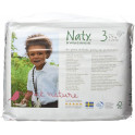 Paquete pañales ecologicos Ecolog Naty 31 uds. Talla 3