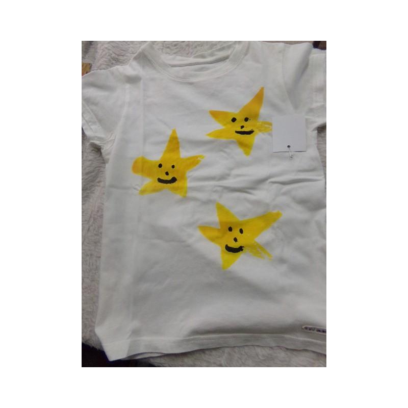 Camiseta People Unlimited estrella talla 6 años. Segunda mano