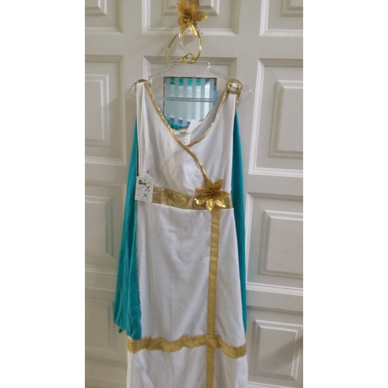 Disfraz de romana talla 5-6 años. Segunda mano