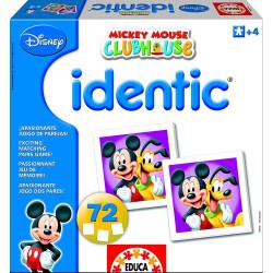 Identic La Casa de Mickey - Juego de memoria