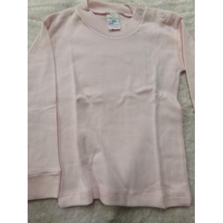 Camiseta interior rosa 36 meses