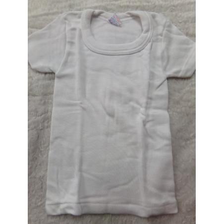 Camiseta interior manga corta  2 años