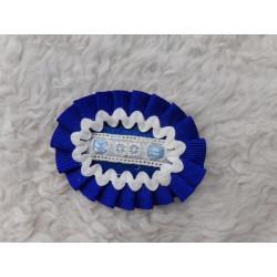 Prendedor azul para pelo. Sin uso