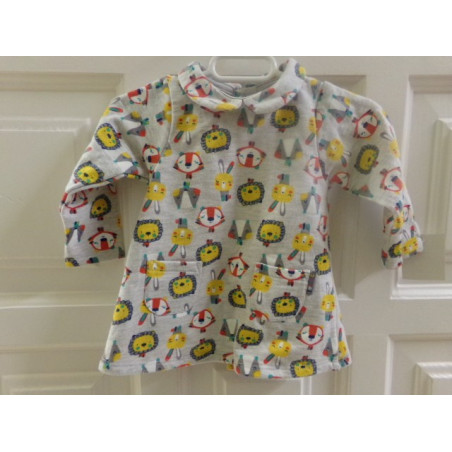Vestido Tuc Tuc talla 1-3 meses. Segunda mano
