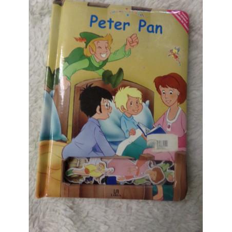 Cuento de imanes clasicos PETER PAN. Segunda mano