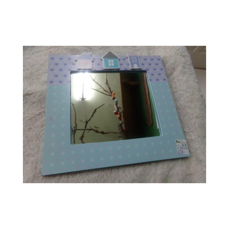Espejo casitas 26x28