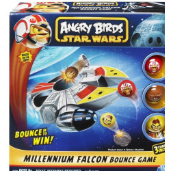 ANGRY BIRDS STAR WARS - MILLENNIUM FALCON BOUNCE GAME - HASBRO