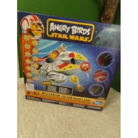 ANGRY BIRDS STAR WARS - MILLENNIUM FALCON BOUNCE GAME - HASBRO