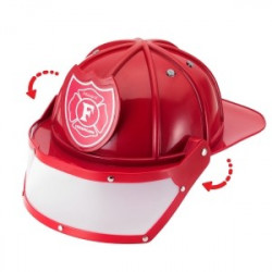 Casco de bombero para niños y niñas