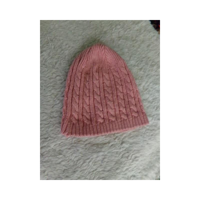 Gorrito rosa 9-12 meses