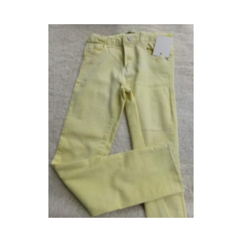 Pantalon amarillo 7 años