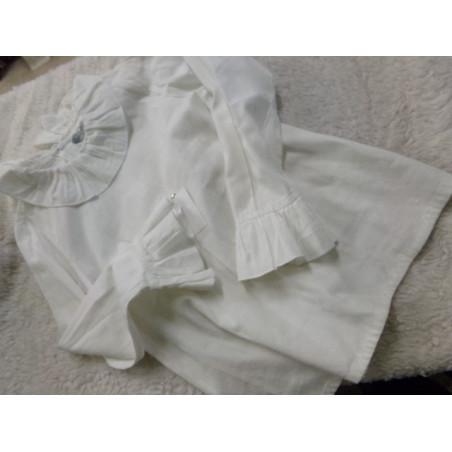 Blusa blanca 6 años