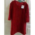 Vestido encaje rojo 7-8 años