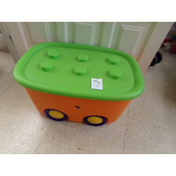 Caja guarda juguetes. Funny box. Segunda mano