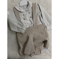 Pelele y camisa Sardon talla 12 meses. Segunda mano