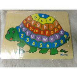 Puzzle tortuga Andreu toys. Segunda mano
