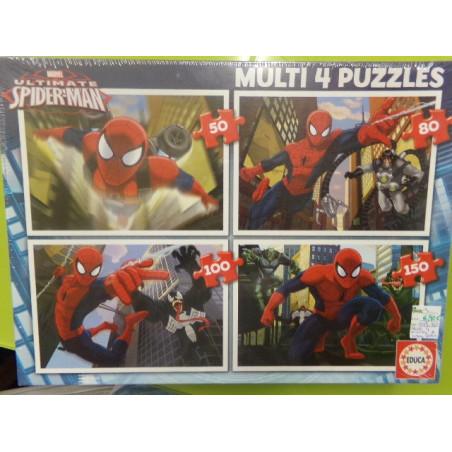 Multi 4 puzzles Spiderman a estrenar