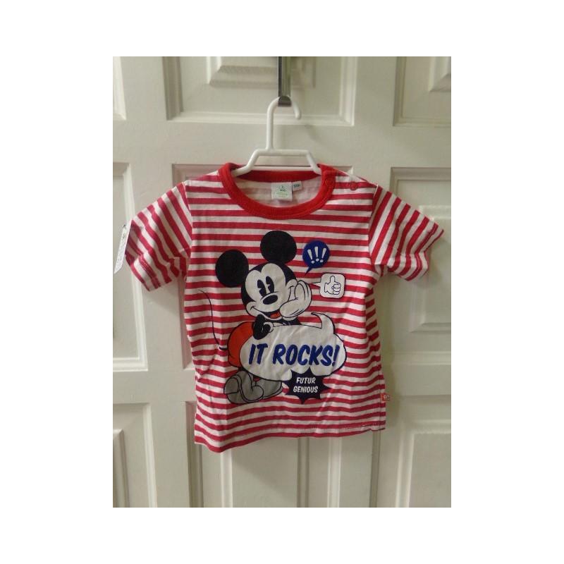 Camiseta Mickey 12 meses