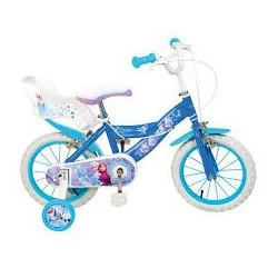 Bicicleta Frozen 16 pulgadas. Segunda mano