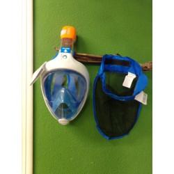 Máscara Snorkel Subea Easybreath 500 Niños Azul sin uso