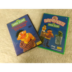 2 DVD Barrio Sesamo. Segunda mano