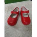 Zapato rojo talla 21