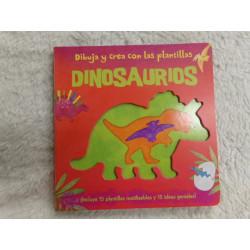 Dibuja y crea plantillas de Dinosaurios. Segunda mano